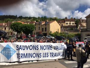 Plus de 200 adhérents de l'association J'aime Beynac interpellent Jean Michel Blanquer le 12 mai